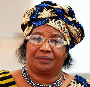 Malawi's first female president